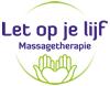logo massage bedrijf let op je lijf