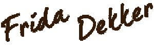 logo frida dekker